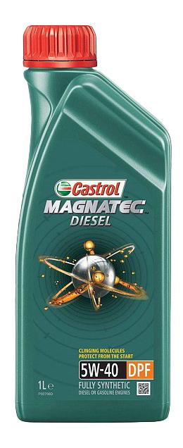 Моторное масло Castrol Magnatec Diesel 5W-40 1л