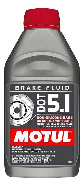 Тормозная жидкость MOTUL 1л 105836