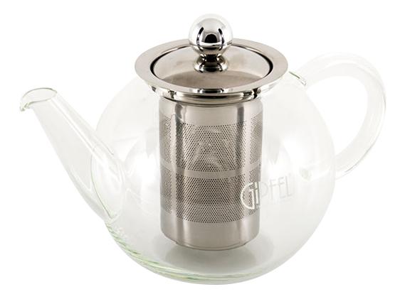 GIPFEL Стеклянный заварочный чайник с фильтром SHUGA
