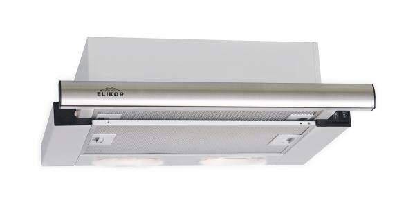 Вытяжка встраиваемая Elikor Интегра 60П-400-В2Л White/Silver