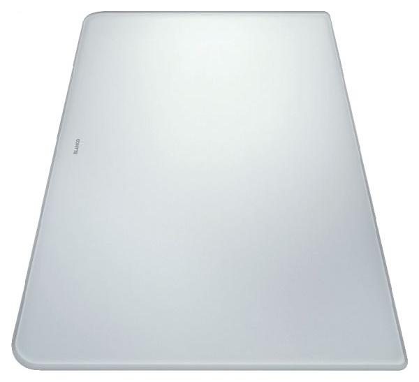 224510 Разделочная доска стекло белый (50*31*1,6