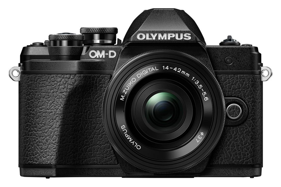 Фотоаппарат системный Olympus OM-D E-M10 Mark III 14-42 EZ Black фото