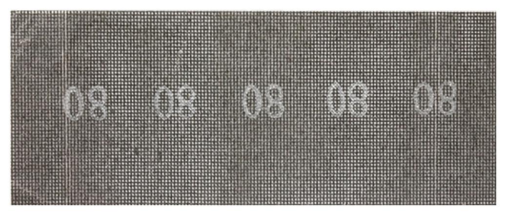 Лист шлифовальный для вибрационных шлифмашин SPARTA 751345
