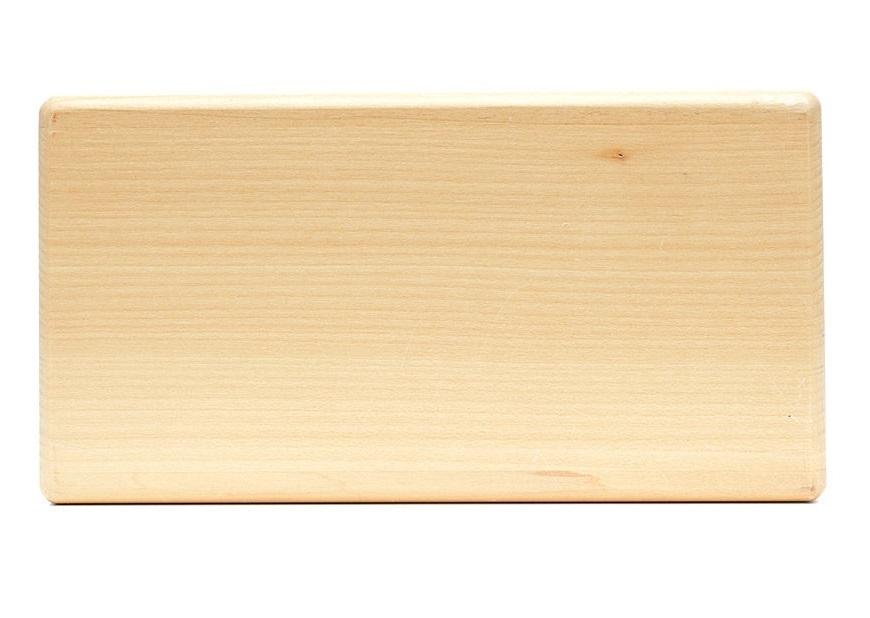 Кирпич для йоги RamaYoga деревянный полый (Супер легкий) 509567