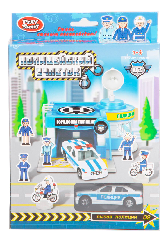 Купить Игровой набор Play Smart Полицейский участок, PLAYSMART, Детские наборы полицейского