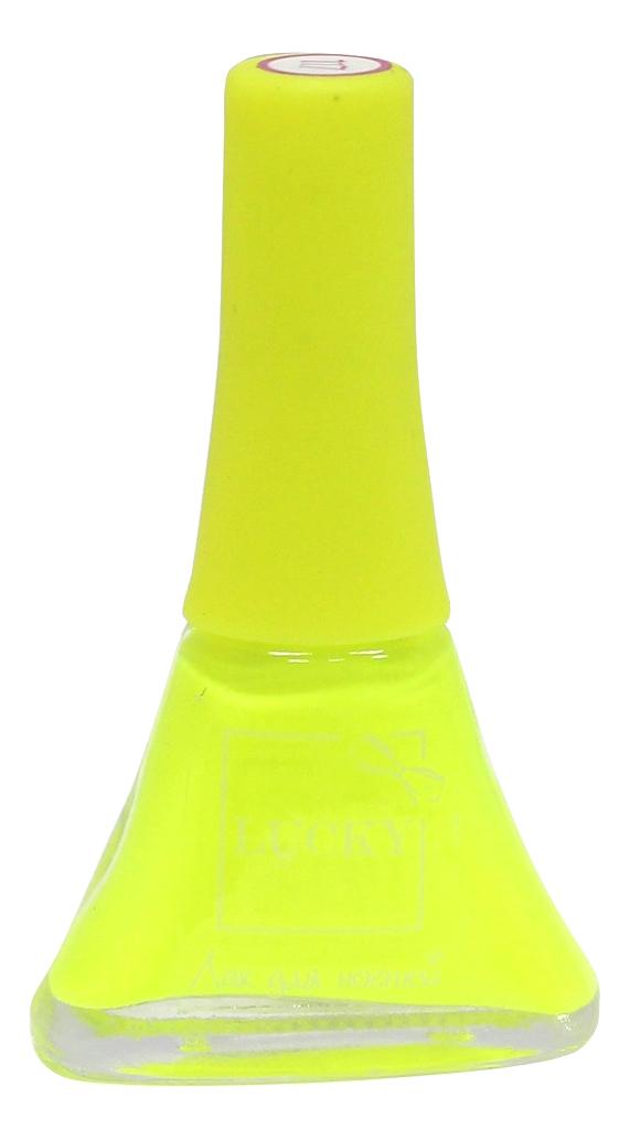 Лак для ногтей Lucky Детская косметика тон 117 желтый