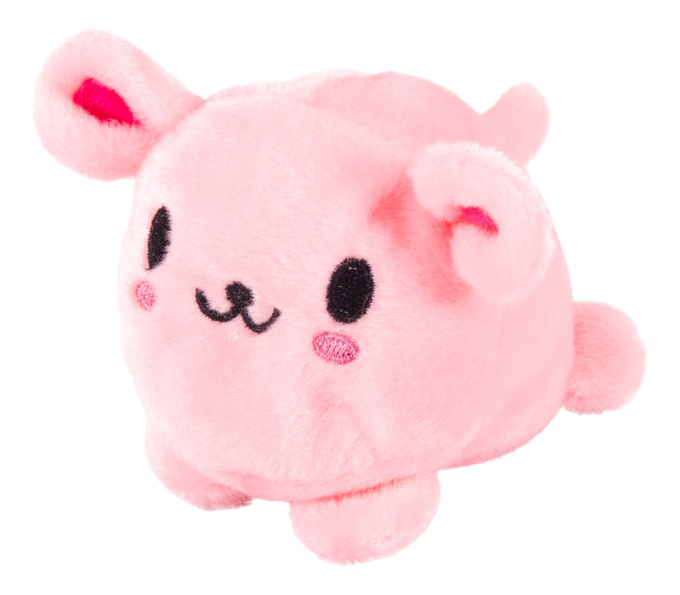 Мягкая игрушка Button Blue Мячик - Розовый кролик, 7 см фото