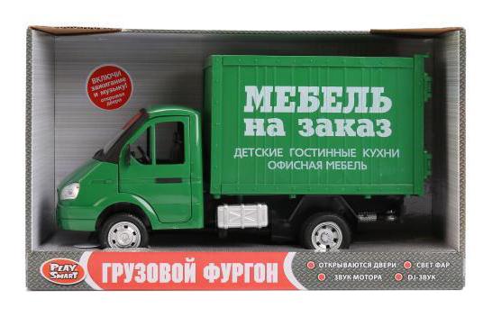 Фургон инерционныйМебель на заказ Play Smart В22476 фото