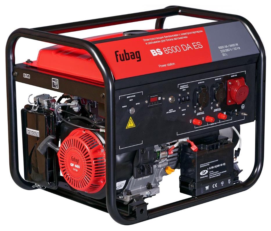 Электростанция бензиновая FUBAG BS 8500 DA ES