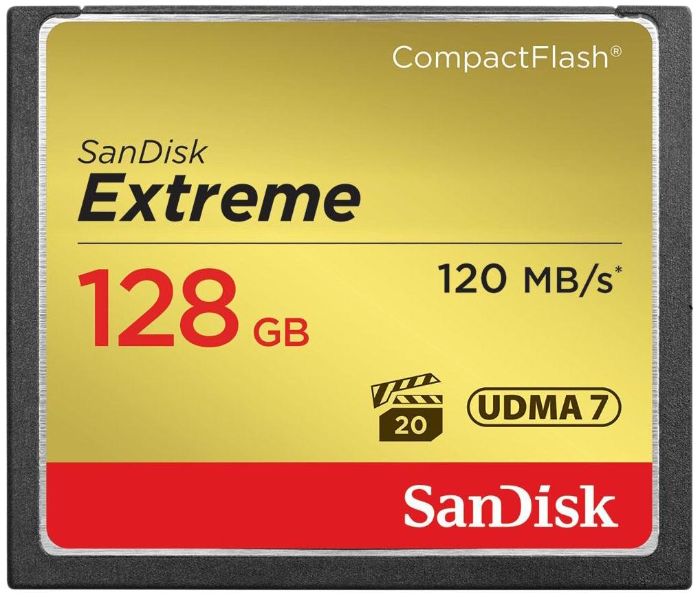 Карта памяти SanDisk Extreme Compact Flash SDCFXSB