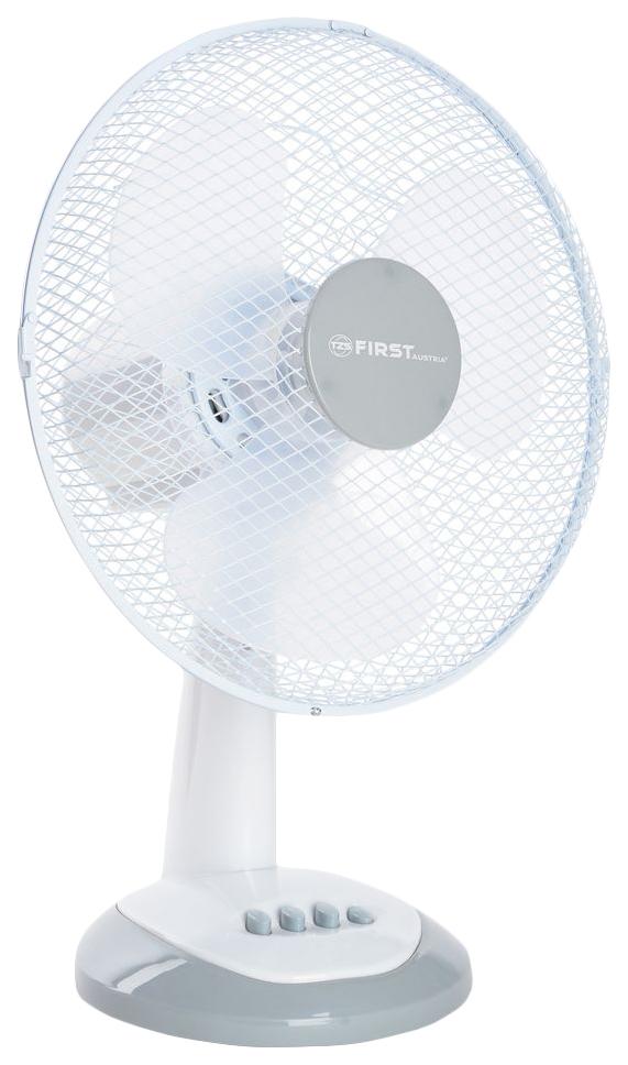 Вентилятор настольный First FA 5551 GR white/grey