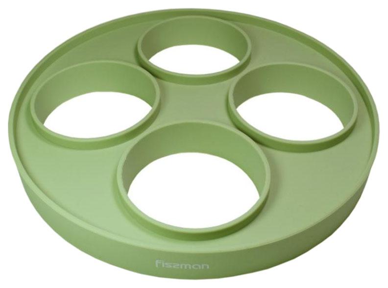 Форма для оладий и яичницы Fissman 6577 Зеленый фото
