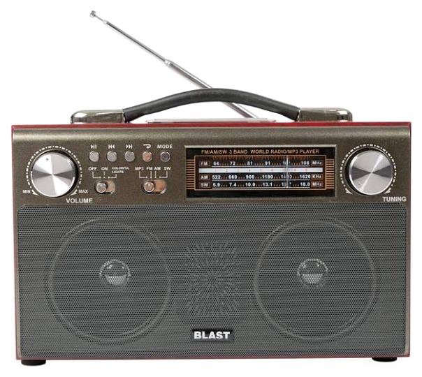 Радиоприемник Blast BPR 812 Bl