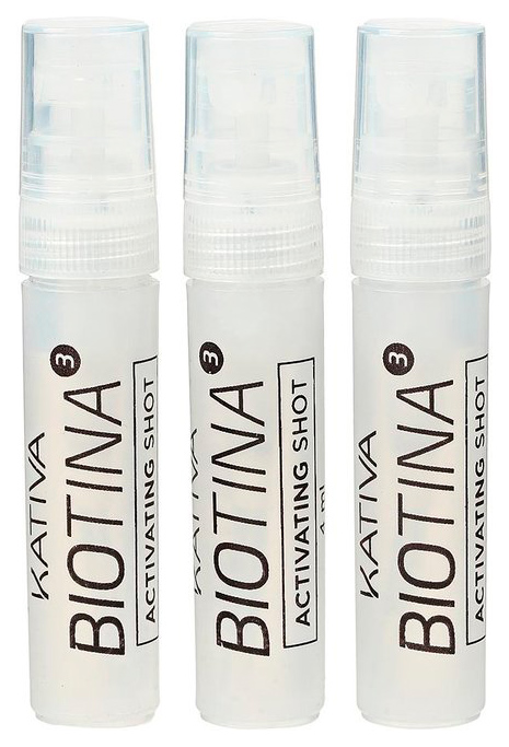 Ампулы для волос Kativa Biotina 3 Activating