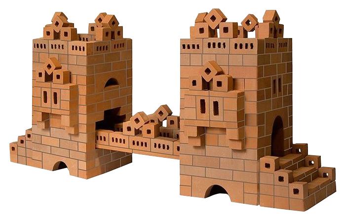 Купить Конструктор Кирпичики Мост, Конструктор для малышей BrickMaster Кирпичики Мост 450 деталей, Детские конструкторы