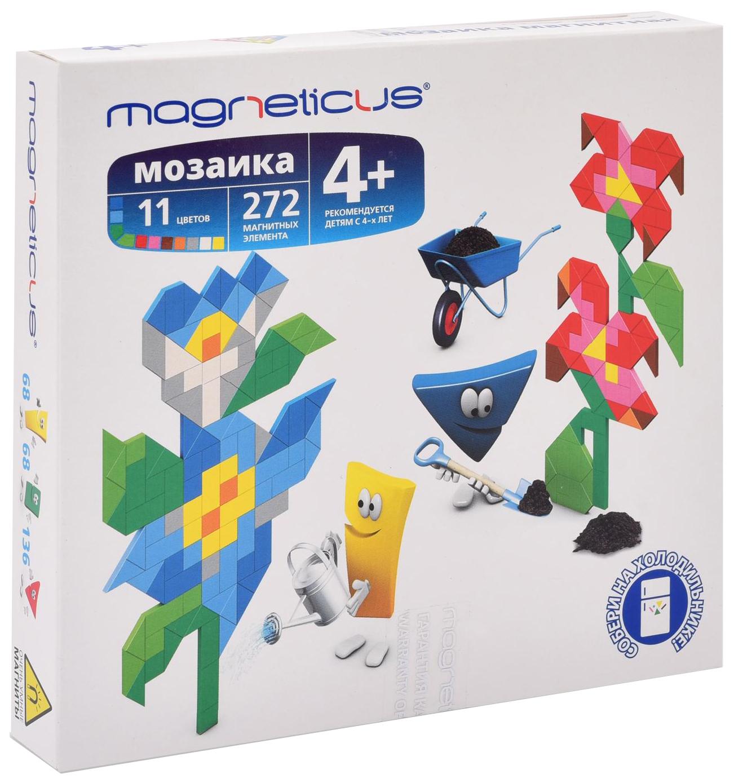 Мозаика магнитная Цветы 272 элемента 11 цветов, Мозаика Magneticus магнитная Цветы 272 элемента 11 цветов, Мозаики  - купить со скидкой