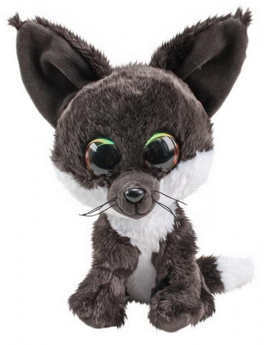Купить Мягкая игрушка Tactic Лисёнок Noki, серый, 15 см, Мягкие игрушки животные