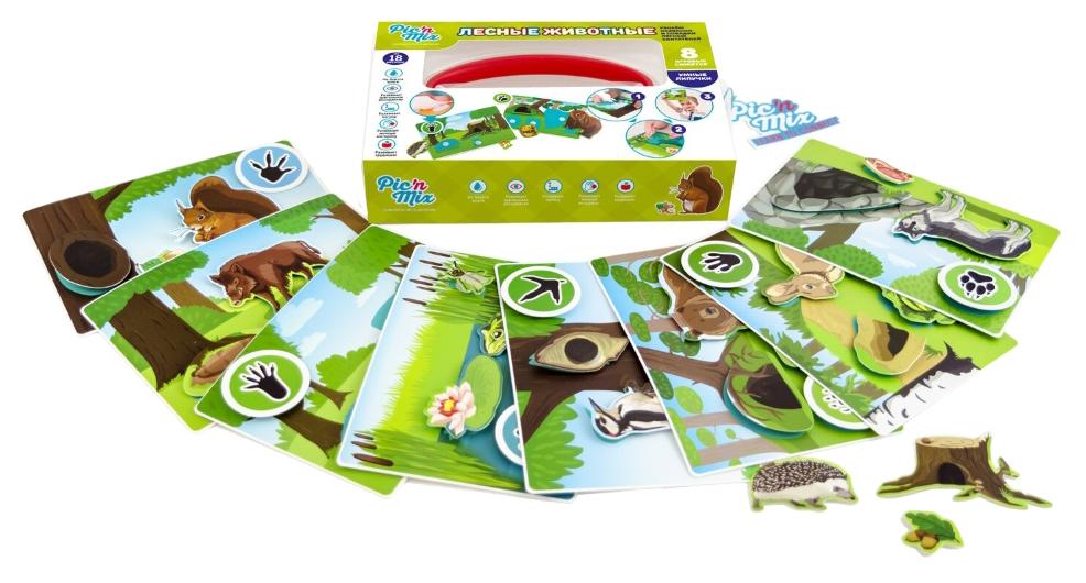 Семейная настольная игра Picn Mix Лесные животные