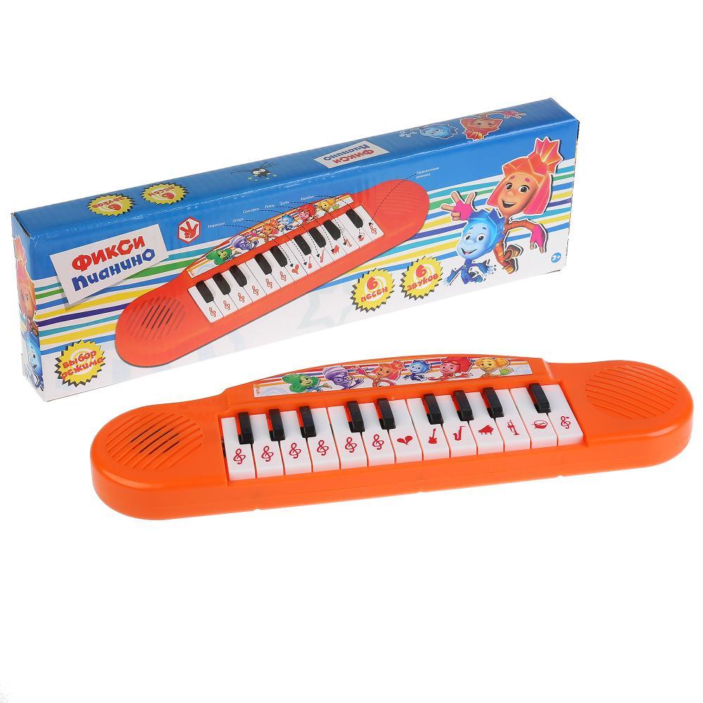 Купить Пианино Умка 6 песен из м/ф фиксики, Детские музыкальные инструменты