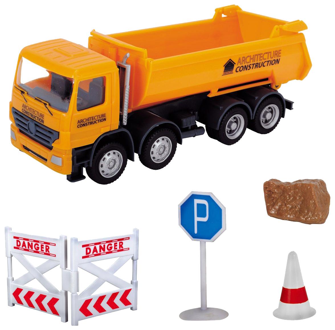 Купить Спецтехника Dickie Toys Construction дорожная техника 3342005, Строительная техника