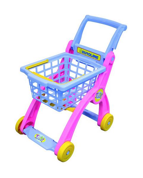Купить Тележка игрушечная Нордпласт для супермаркета, НОРДПЛАСТ, Детские тележки для супермаркета