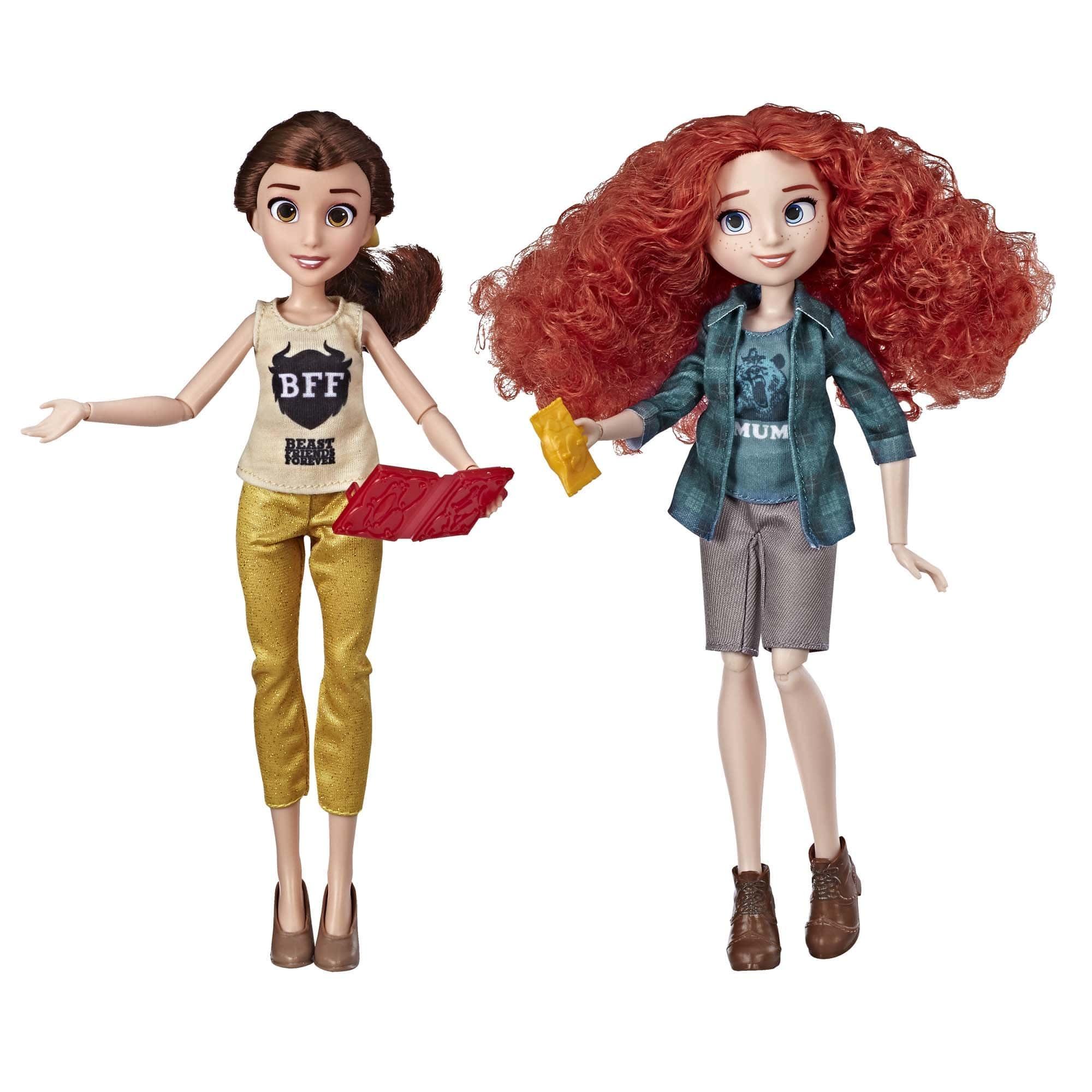 Купить Куклы Disney Princess Белль и Мерида - Ральф против интернета E7415,