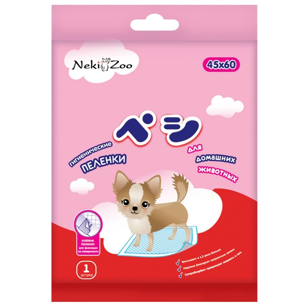 Пеленки для домашних животных MANEKI NekiZoo, впитывающие,