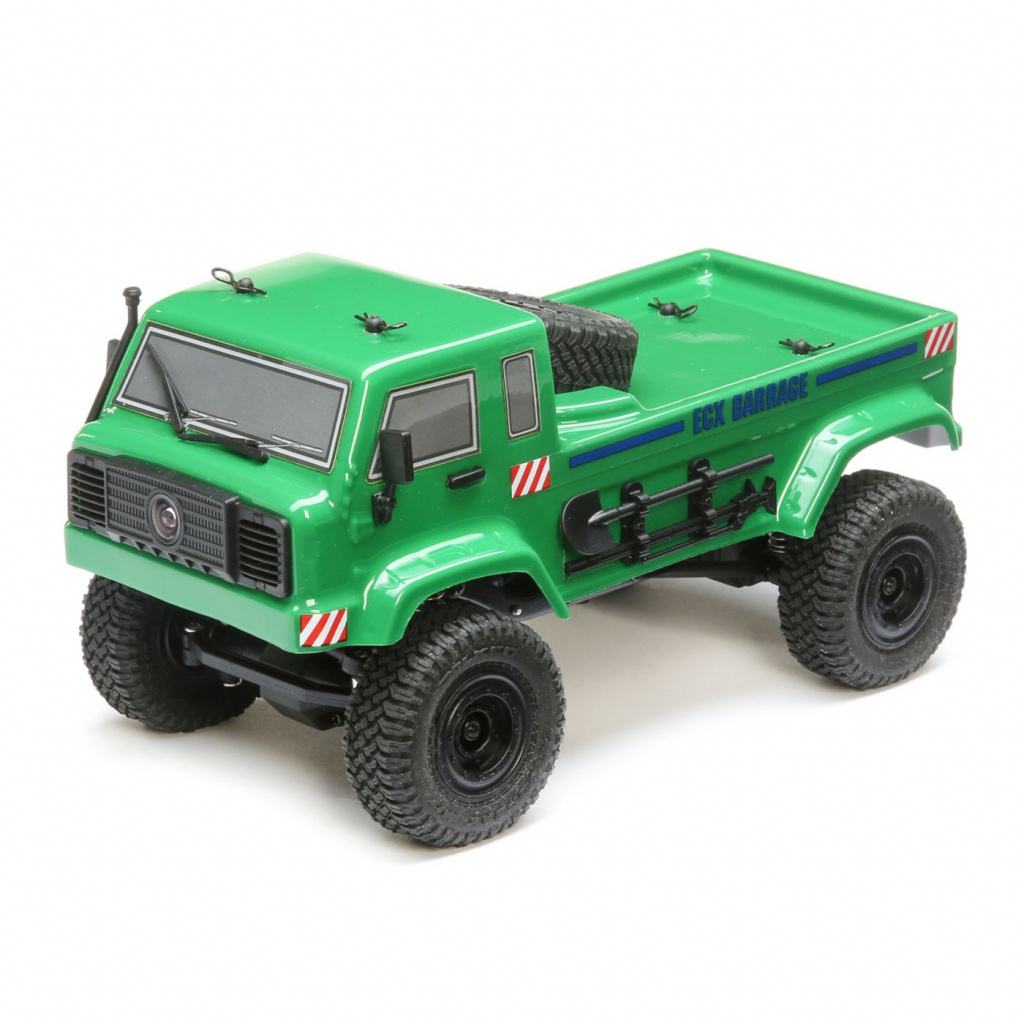 ECX SCALER CRAWLER BARRAGE UV 4WD FPV GREEN