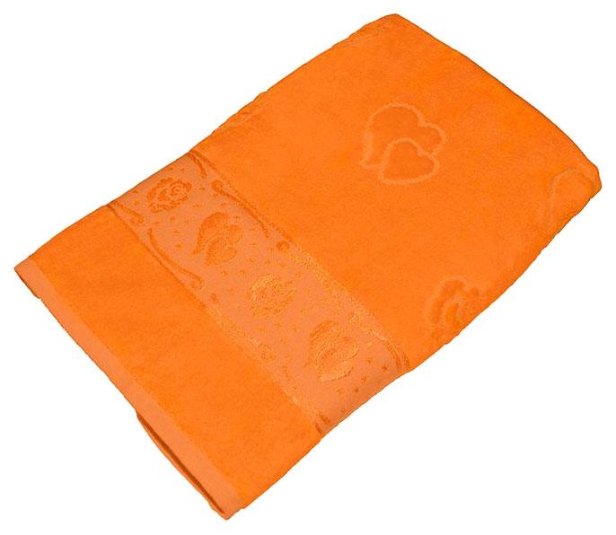 Банное полотенце Aisha оранжевый