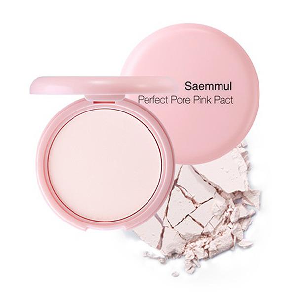 Купить Пудра розовая с каламином для проблемной кожи Saemmul Perfect Pore Pink Pact 11гр, THE SAEM