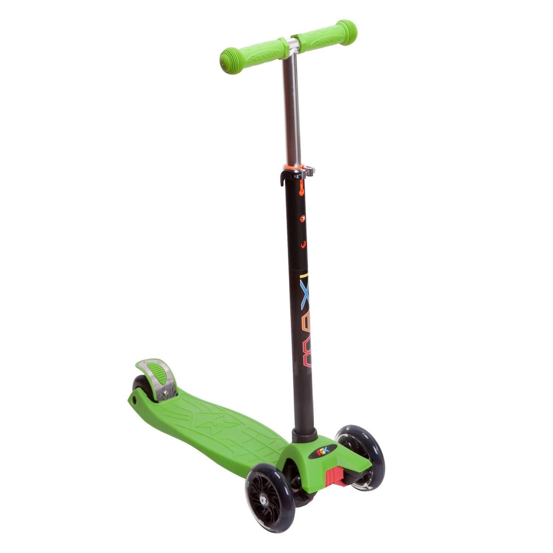 Купить Самокат RGX MAXI LED Green,