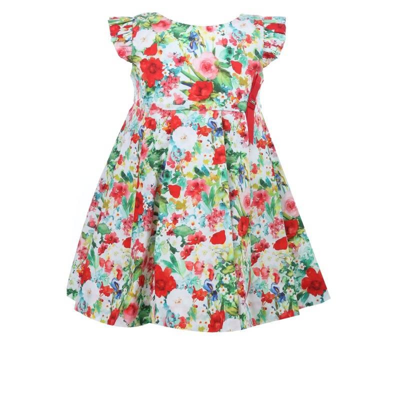 Купить Платье MAYORAL, цв. зеленый, 98 р-р, Детские платья и сарафаны