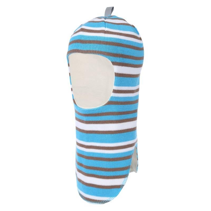 Шапка-шлем Snappy Vilukissa, цв. голубой, 48 р-р