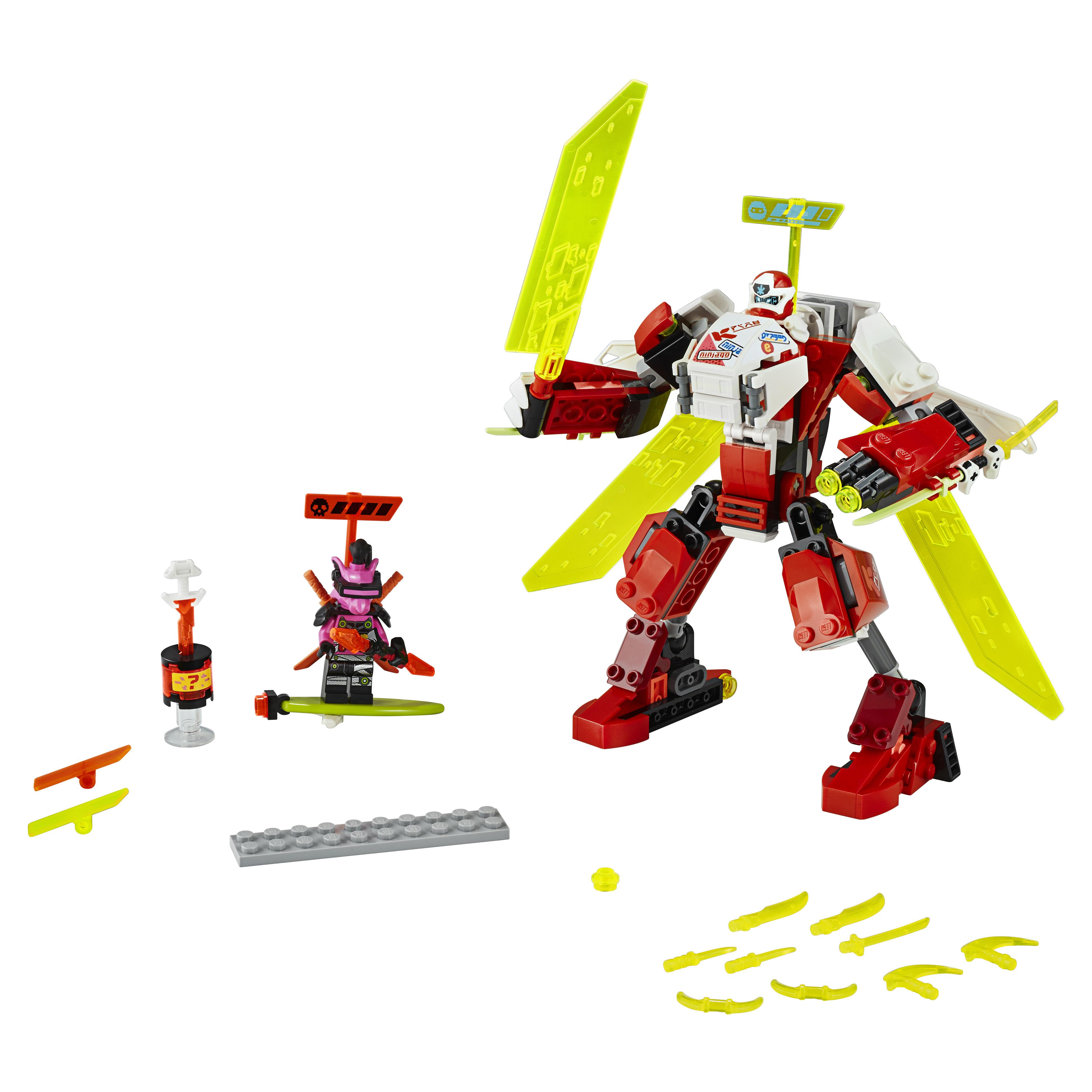 Конструктор LEGO NINJAGO 71707 Реактивный самолёт Кая