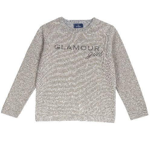 Купить 9069164, Джемпер Chicco для девочек р.92 цв.серый, Кофточки, футболки для новорожденных