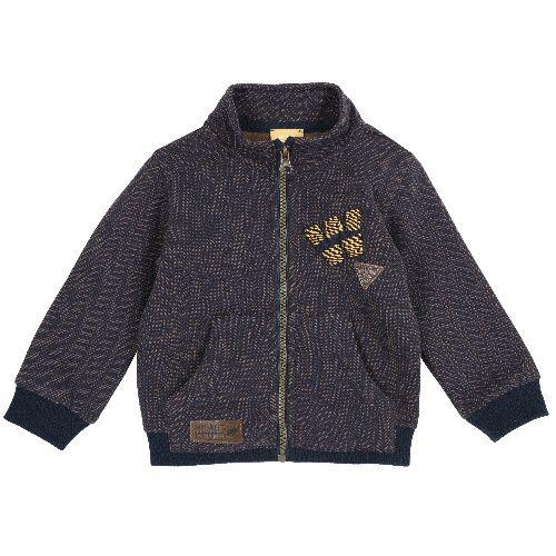 Купить 9096906, Толстовка Chicco для мальчиков р.92 цв.темно-синий, Кофточки, футболки для новорожденных