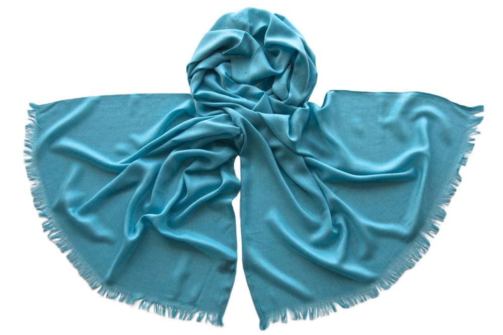 Палантин женский Tranini 1740 голубой