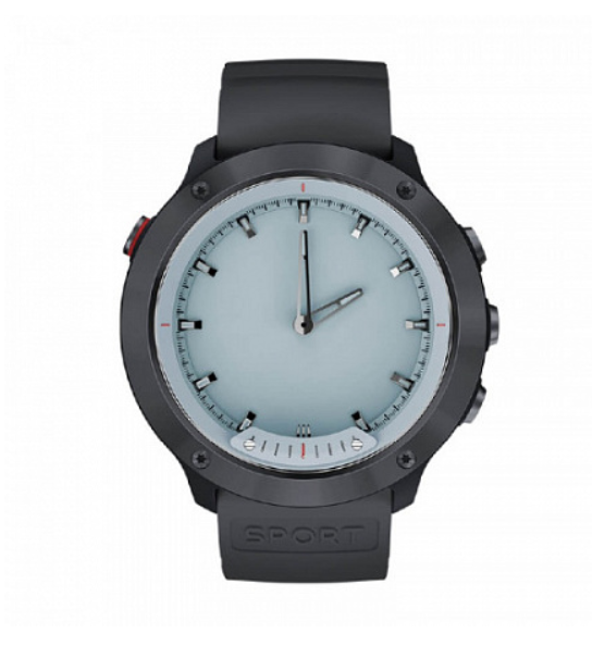 Смарт-часы Geozon G-SM03BLK Hybrid Black/Gray фото