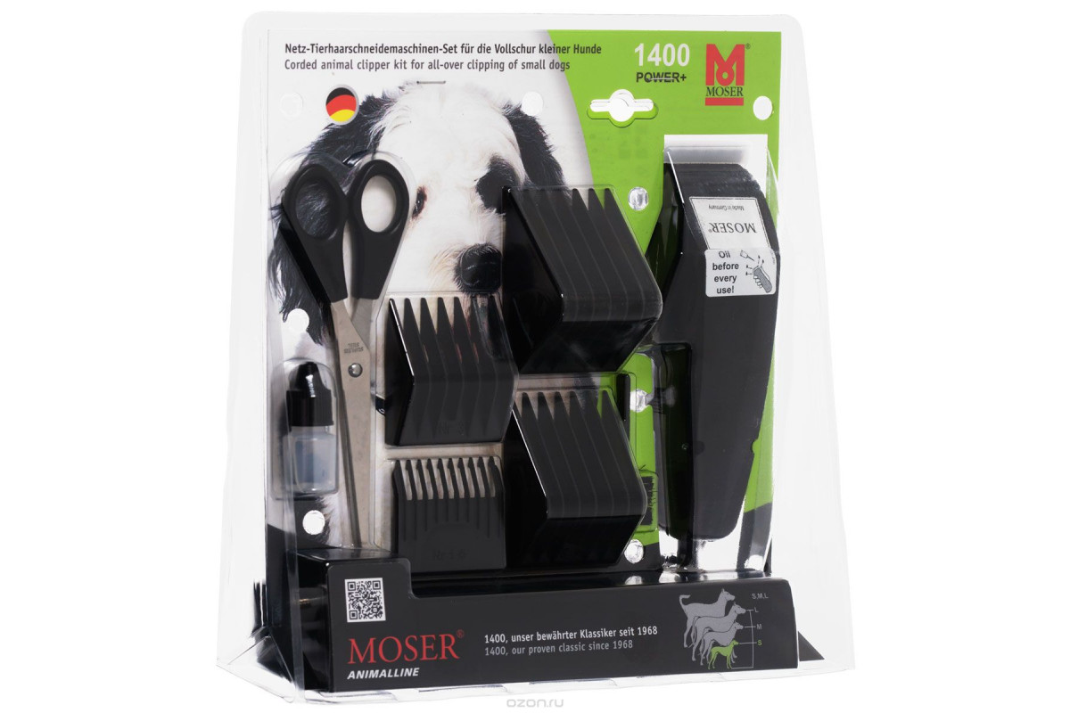 Машинка для стрижки домашних животных MOSER Animalline,