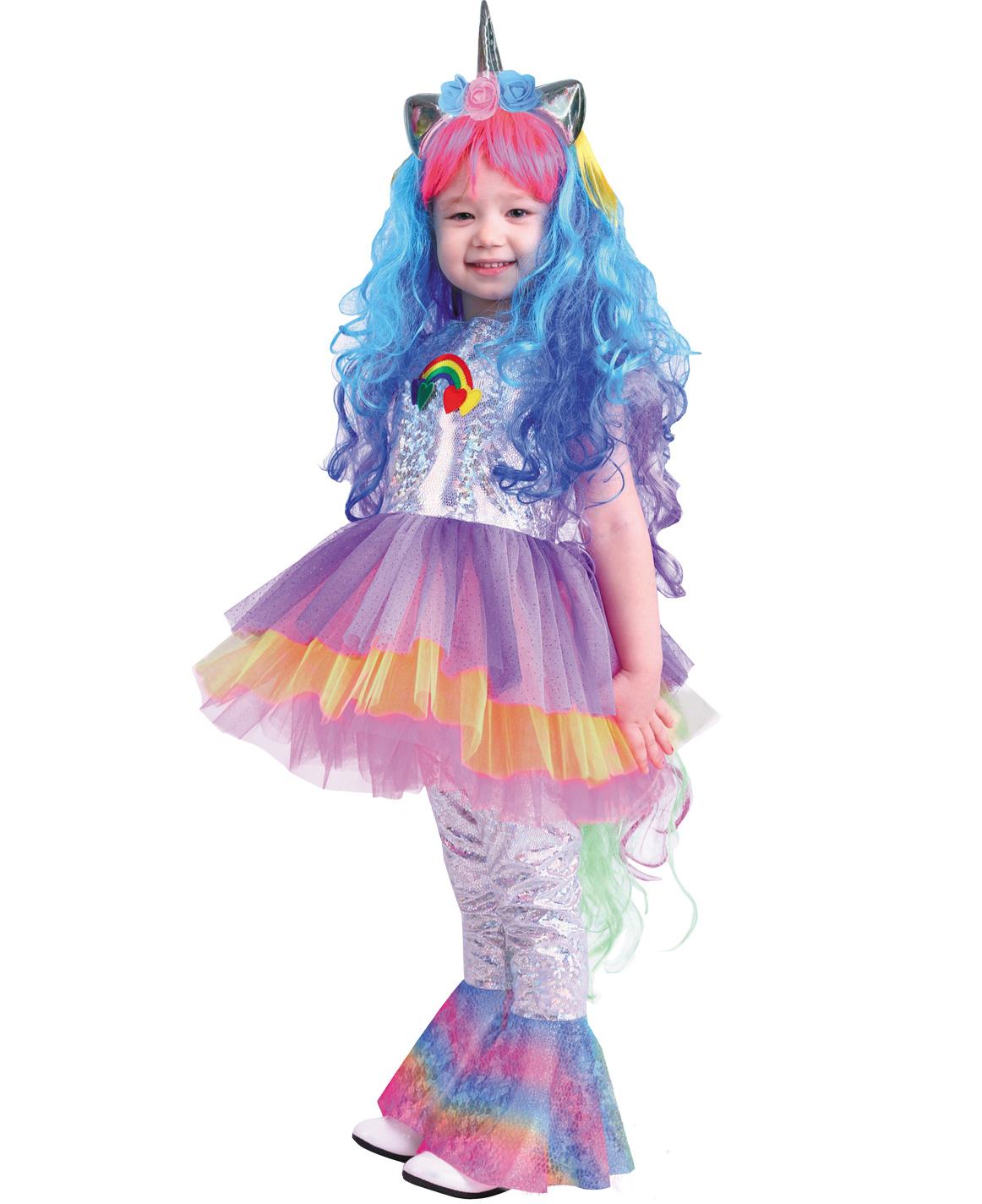 Купить 2072, Карнавальный костюм Батик Единорог, цв. разноцветный р.122,