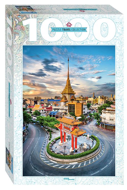 Пазл Step Puzzle 1000 деталей Тайланд. Бангкок. Чайна-таун