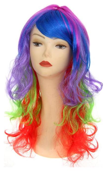 Карнавальный парик Цветной Страна Карнавалия