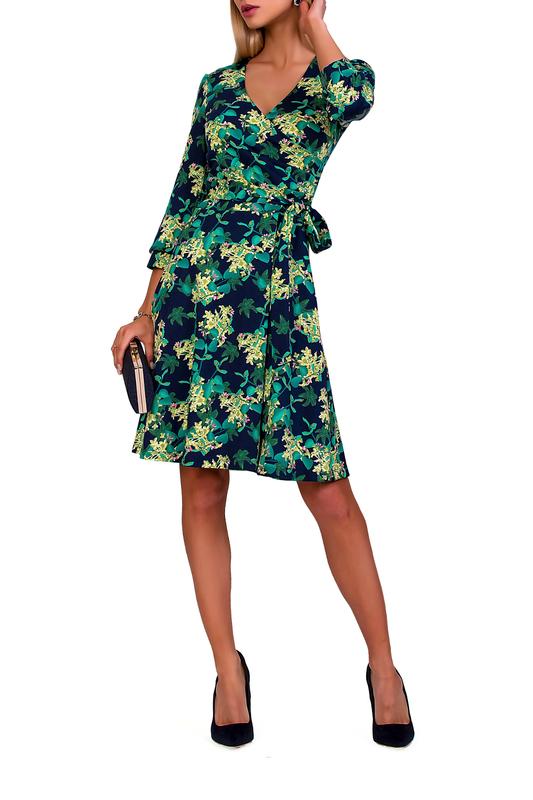 Платье женское FABIEN DE FERANTE 1875 зеленое 44 RU фото