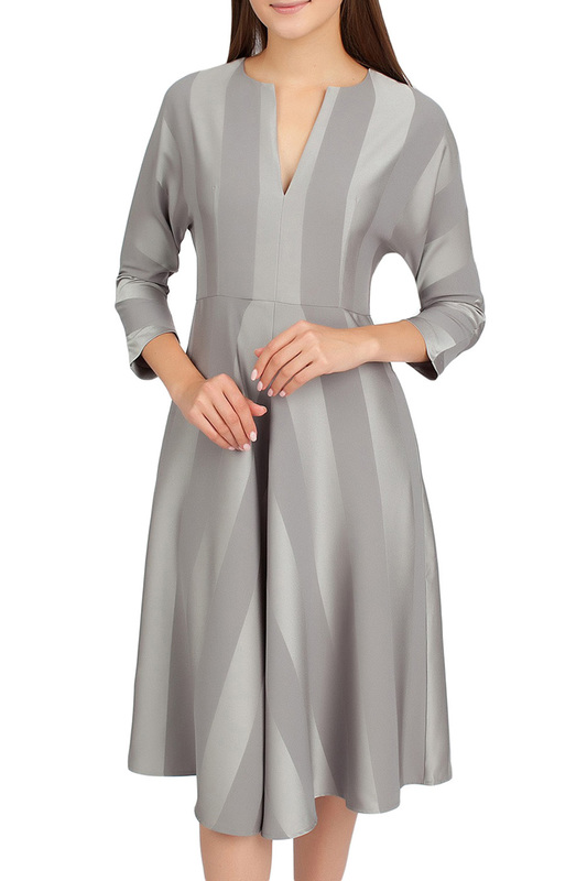 Платье женское SERGINNETTI 5-2555-4332-7 серое 48 RU фото