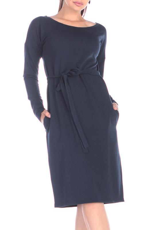 Платье женское Rebecca Tatti RR728_2DV синее XS