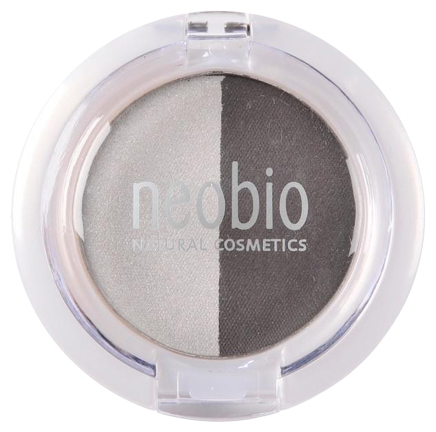 Тени для век NeoBio Eyeshadow Duo 03 Smokey Night 2,5 г