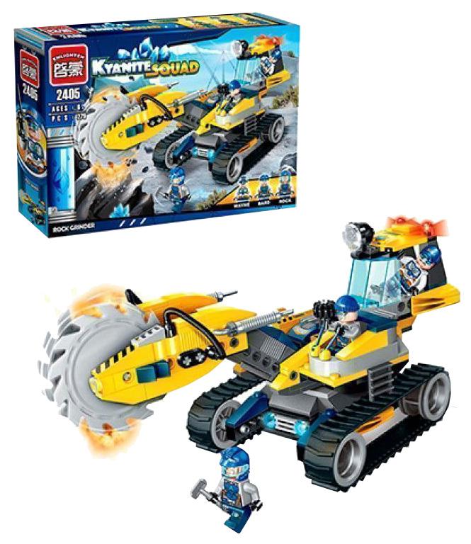 Купить Конструктор пластиковый Brick Бульдозер с пилой 2405 279 Деталей, Конструкторы пластмассовые