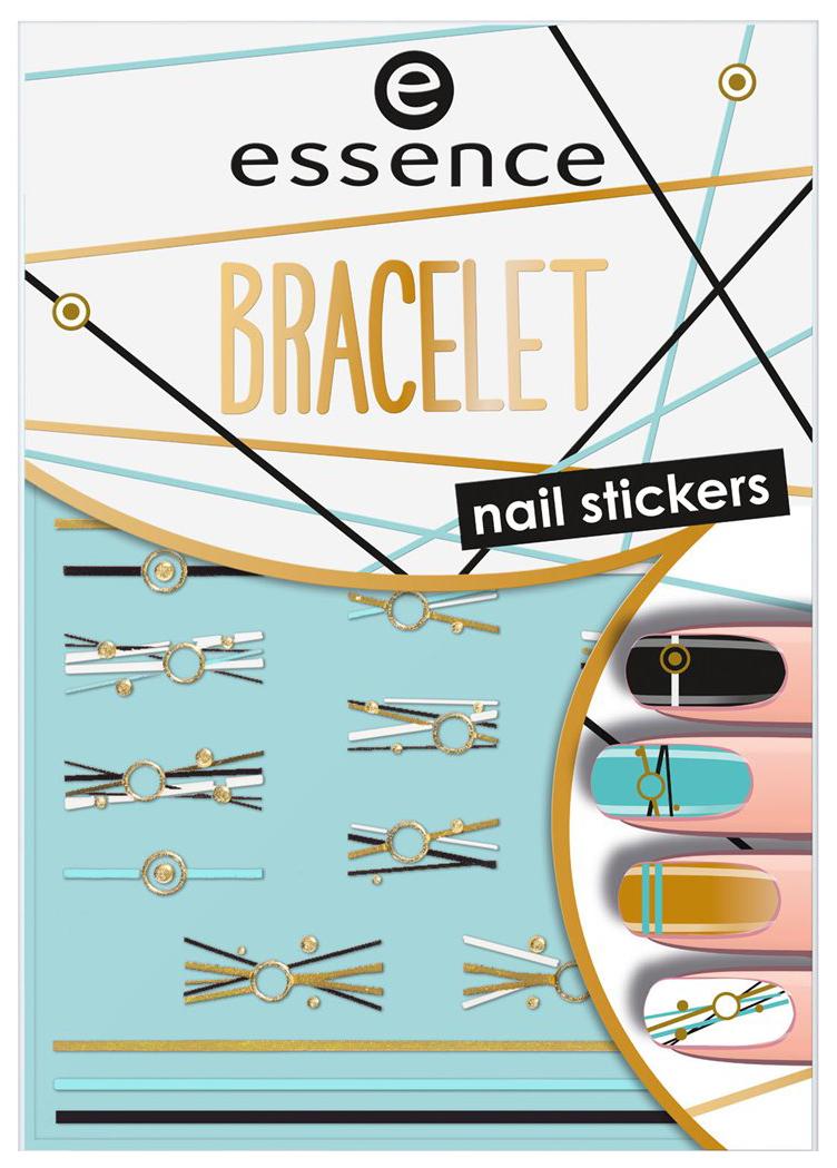 Наклейки для ногтей essence Bracelet Nail Stickers