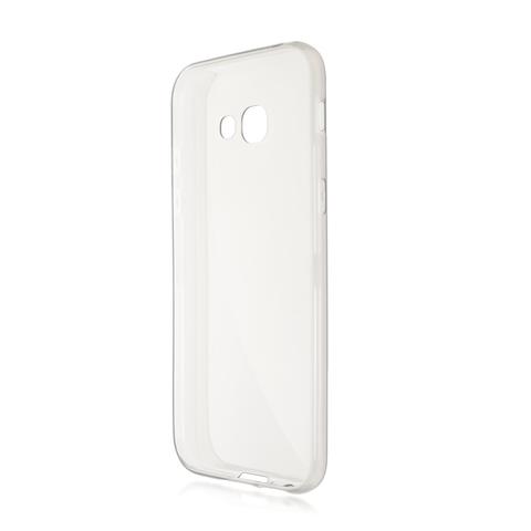 Силиконовый чехол Brosco для Samsung Galaxy A5 (2017), прозрачный