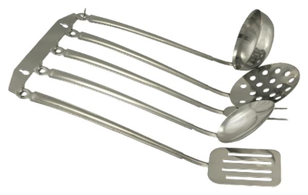 Набор кухонных принадлежностей Амет 1С348 Серебристый